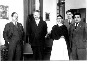 Trotsky-y-Frida-Kahlo